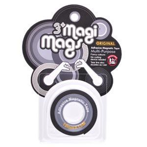 【3+ Magi Mags】磁鐵膠帶19mmx1.5M-經典銀