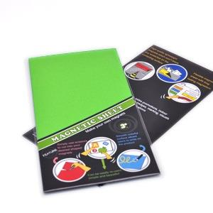 3+ MAGNETIC SHEET 七彩PVC軟性磁鐵-綠