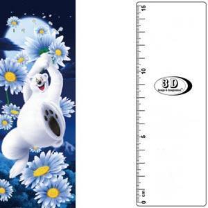 3D書籤尺-飛天北極熊