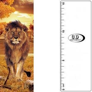 3D書籤尺-獅子