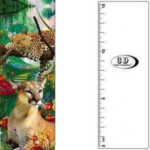 3D書籤尺-獵豹_動物界的超跑