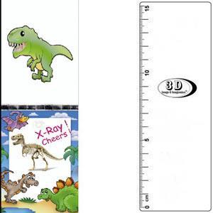 3D書籤尺-卡通暴龍