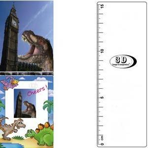 3D書籤尺-恐龍與大笨鐘