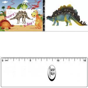 3D書籤尺-劍龍照X光