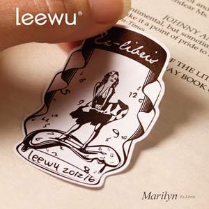 【leewu】Fantasy 藏書票-Marilyn