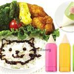 日本彩色鉛筆DIY美食繪畫筆(3入)