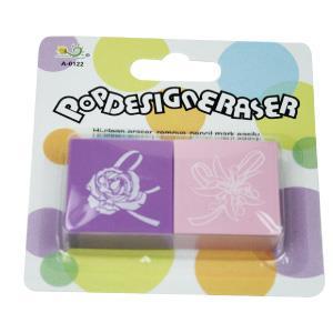 【允拓】POP DESIGN效果色系橡皮擦-紫色系