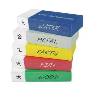 【允拓】五行橡皮擦 5PCS/盒
