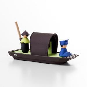 【iThinking】舢舨船文具組-綠