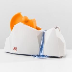 【iThinking】山水造型大膠台-本體白+橘