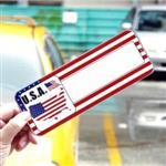 【國旗商品創意館】美國造型可複寫留言停車牌/USA/福特/克萊斯勒/凱迪拉克