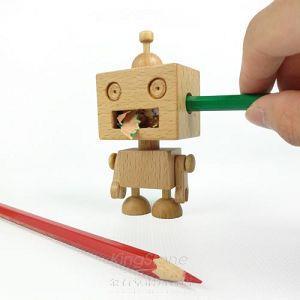 【木匠兄妹】機器人削筆器