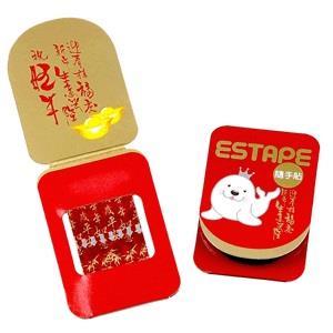 【ESTAPE】隨手貼OPP喜慶卡-歲歲平安‧年年如意