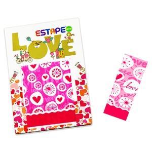 【ESTAPE】隨手貼OPP好心情-漂浮愛心
