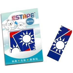【ESTAPE】隨手貼OPP瘋國旗-台灣風