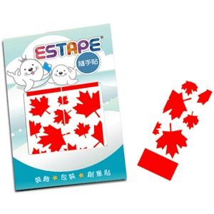 【ESTAPE】隨手貼OPP瘋國旗-加拿大風