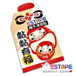 【ESTAPE】隨手貼-御守清潔卡 (黏黏有福)