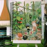 afu空白專用繪畫本《花園小徑》