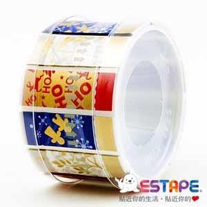 【ESTAPE】易撕貼OPP抽取式膠帶-歡樂繽紛組合
