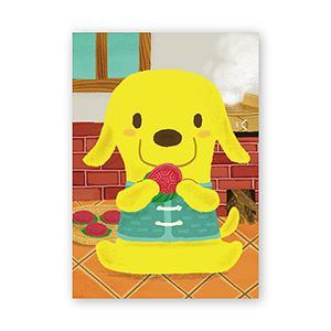 Smohouse [PoCa] 臺式點心明信片:紅龜粿