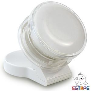 【王佳膠帶 ESTAPE 膠台】白頂白座 易撕貼膠台(45°新穎設計)
