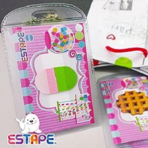 ESTAPE 造型隨手貼OPP 點心卡 膠囊