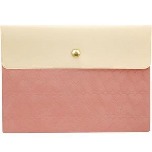 【LABCLIP】Prevenance 系列 A5資料袋/ 粉紅色