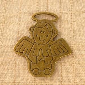 古銅色配件輕靈之森手工療癒系‧大天使