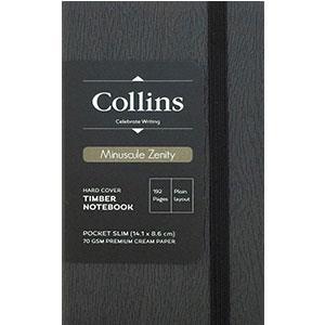 英國Collins手札-雨果迷你系列 (鐵灰-A6)