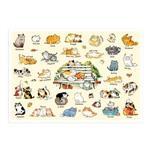 afu尋夢者森林明信片《H03 貓咪的一百種生活 II》