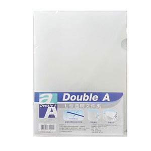 Double A L型A4透明文件夾(12入/包) (DAFF13001)