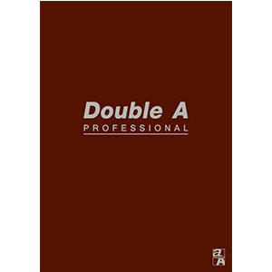 Double A A5膠裝筆記本-辦公室系列(咖啡) DANB12164