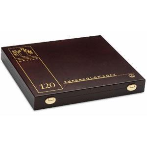 CARAN d`ACHE SUPRACOLOR專家級水溶性色鉛120色 木盒