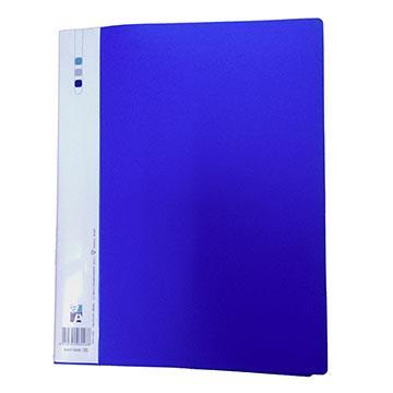 Double A 右上強力夾-藍色 DAFF15008
