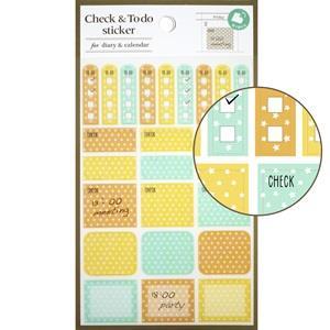 【LABCLIP】Customize sticker系列 Check&ToDo sticker-星星