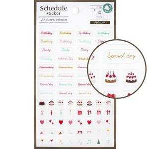 【LABCLIP】Customize sticker系列 Schedule -SPECIAL DAY