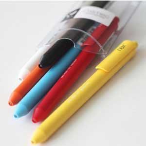 滑順好寫 PREMEC NEX Gel Pen 瑞士膠墨筆 輕便筆盒組 六入裝