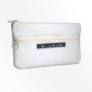 twinwow - 俐落時尚 - 細緻質感收納包 - 玫瑰白