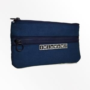 twinwow - 俐落時尚 - 細緻質感收納包 - 藏青藍