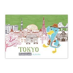 Smohouse 明信片:飛遊城市 東山先生遊日本東京