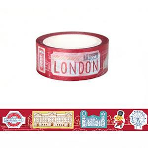 Smohouse 和紙膠帶:飛遊城市 狗店長遊英國倫敦