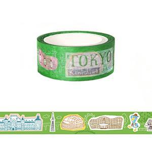 Smohouse 和紙膠帶:飛遊城市 東山先生遊日本東京