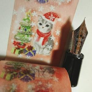 【絕版出清】聖誕限定平安夜大衛畫貓設計師紙膠帶30MM10米