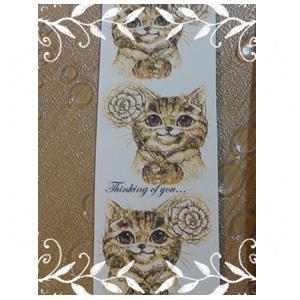 【絕版出清】金色想念你鏡射版大衛畫貓限量紙膠帶30MM10M