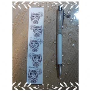 【絕版出清】大衛畫貓設計師紙膠帶黑白想念你30MM10米