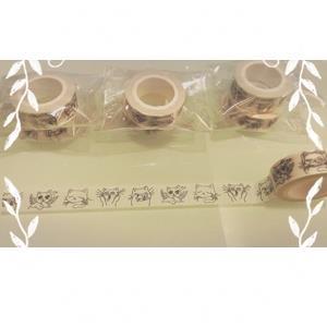 【絕版出清】貓咪異想世界02大衛畫貓設計師紙膠帶15MM10米