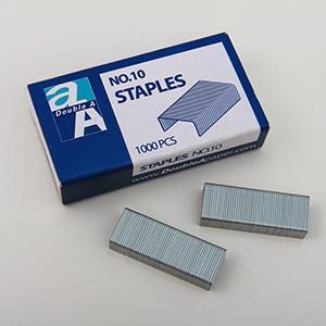 Double A 10號釘書針(20小盒/中盒)DAMS15002