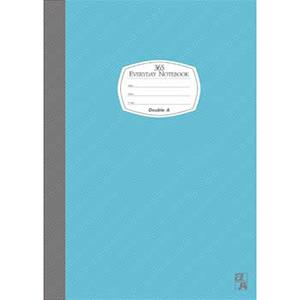 Double A B5/18K膠裝筆記本每日經典系列-藍色DANB14007