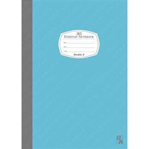 Double A A5/25K膠裝筆記本每日經典系列-藍色DANB14011