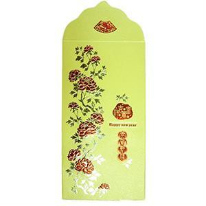 Dr Paper精緻紅包袋-富貴吉祥(2入/包)HBGO13002